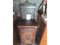 Реставриран орехово шкафче