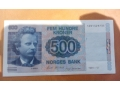 500 норвежки крони 1991