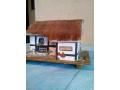 Дървена къщичка-музикална кутия