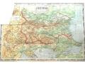 Продавам физическа карта на българия от 1931 г.