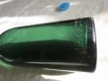 Уникална колекционерска стъклена бутилка !!