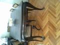 Старинна маса със шест стола