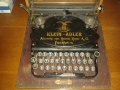 Пишеща машина klein adler 1912 г