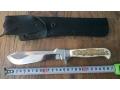 Продавам ръчно изработен юбилеен нож на марката puma white hunter в отлично състояние