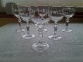 Комплект кристални чаши